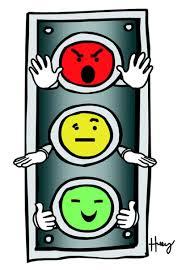 semaforo con caras